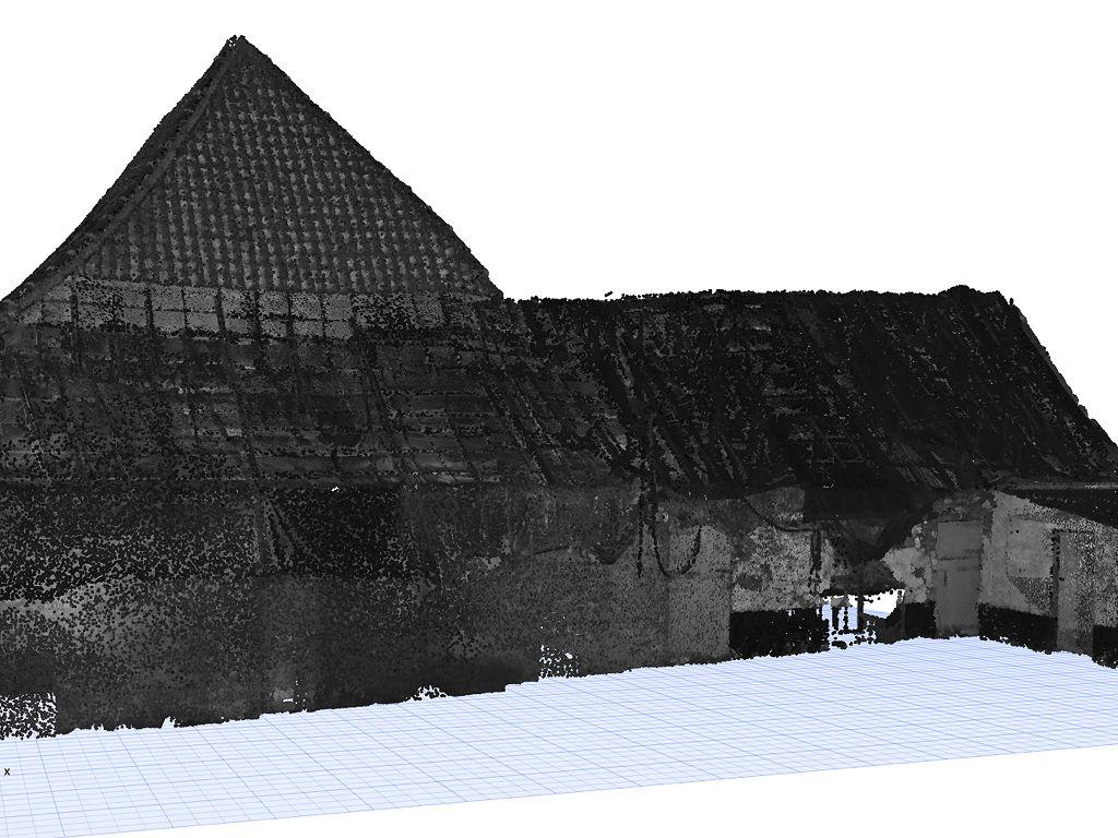 3D model uit pointcloud - pointcloud