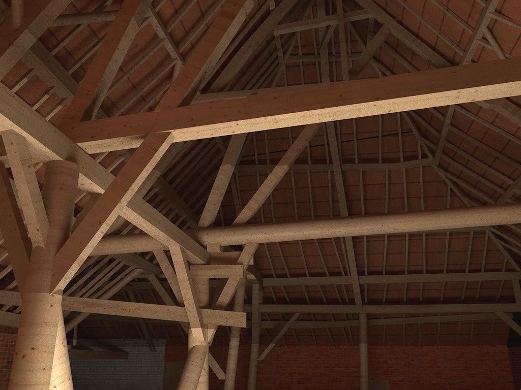 3D model uit pointcloud - interieur