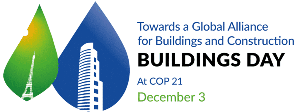 Klimaatconferentie en Buildings Day