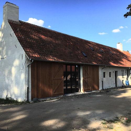 Koolkerke restauratie hoeve